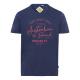 signori T-Shirt Marchio australiano, L, marino