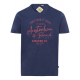 signori T-Shirt Marchio australiano, XL, marino