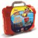 Zestaw podróżny 1 walizka 5 drewnianych znaczków 1