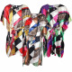 Robe caftan de plage en satin pour femme SD-03