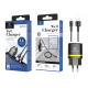 Charger With Ip Cable 1A 1M 1Usb Black