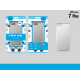 Ip 7 Plus Transparente Anti-Schock-Silikonhülle