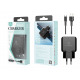 Charger With Usb-Type Cable C 2.4A 1M 2Usb Black