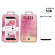 Samsung S20 Tempered Glass Pelicure 3D Edgecover