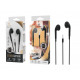 Headsets With Microphone Wire 1.2M Black