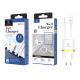 Charger With Ip Cable 1A 1M 1Usb White