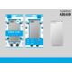 Silicone Cover Anti-Shock Sa A20 / A30 Transparent