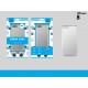 Ip 8 Zilver Anti-Shock Case Transparant