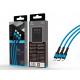 USB-Kabel 3In1 2A 1.2M Blau