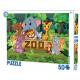 Puzzle Zoo 50 elementów