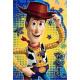Disney Brokatowa kartka z życzeniami z zabawkami w