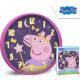 Horloge murale Peppa Pig 25 cm
