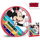 DisneyMickey Horloge murale 25 cm