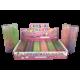 Masilla de limo XXL con purpurina, 20cm, Expositor