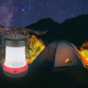 Retractable Multifunctional Solar Camping Lamp