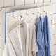 Zestaw 6 wieszaków drzwiowych WENKO ubrania ze sta
