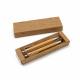 Zestaw do pisania Zestaw upominkowy bambusowy wraz