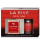 LA RIVE RED LINE dopo barba + deodorante