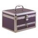 Bőrönd fém fiókos kozmetikai