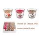Geurkaarsen in glas Aurelia Sweet & Cream MIX