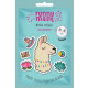 Soothing mask on the fabric LAMA 1pc