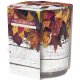 Scented candle in glass and foil Welcome Autumn