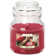 SMALL CANDLE Scented GLASS Apple & cinnamon