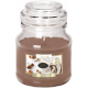 SMALL CANDLE Scented GLASS WITH A CANDY Coffee