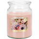 BIG Scented candle with candle Secret Garden
