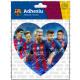Football - Adhesive FCB Grande HEART TEAM