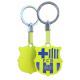 Soccer - Keychain FCB Escudo Fluor Amarillo