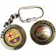 Futbol - Keychain FCB GIRATORIO ESCUDO BALON