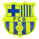 Football - FCB Badges Badge GIANT FLUORO ESCUDO