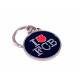 Football - FCB Keychain I LOVE BARCELONA