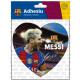 Football - Adhesive FCB Grande HEART PLAYERS