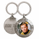 STAR TREK KIRK Metallic Keyring