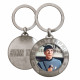 STAR TREK SPOCK Metallic Keyring