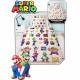 Housse de couette Super Mario - Lineup Blanc
