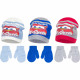 Cars baby hats and gloves lightning Mc queen