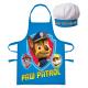 Paw Patrol Kötény és kalap szett - Kék, PP