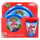 Super Mario Reggeli szett 3 db