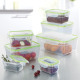 GOURMETmaxx food storage containers Klick-it 14 pi