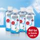 Lot de 4 parfums pour lessive EASYmaxx 250 ml