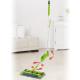 Cordless broom Swivel Sweeper G2 7.2V lime green