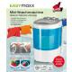 Mini machine à laver EASYmaxx 260W blanc / bleu