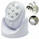 Lampe à 7 leds sans fil avec détecteur de mouvemen