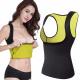 Fitness-T-shirt van neopreen voor dames