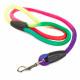 Laisse traditionnelle multicolore pour chien 120cm