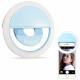 Lumière de lampe de téléphone à LED avec anneau de