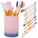 A set of professional makeup brushes 12 pieces